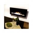 Kominek dekoracyjny 90x40 prostokątny EcoFire czarny EF-9040-1