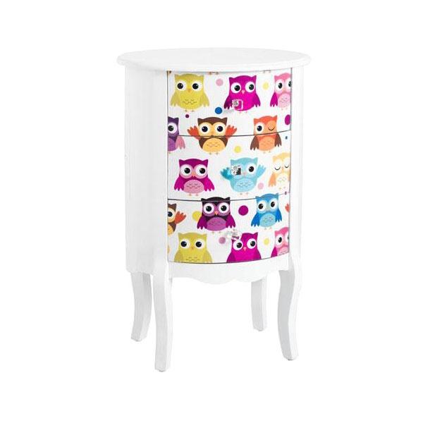 Komoda dla dzieci z szufladami Brandani Owl 55295