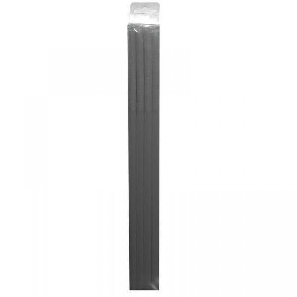 Komplet 15 słomek Zak! Design Jumbo czarne 0015-710