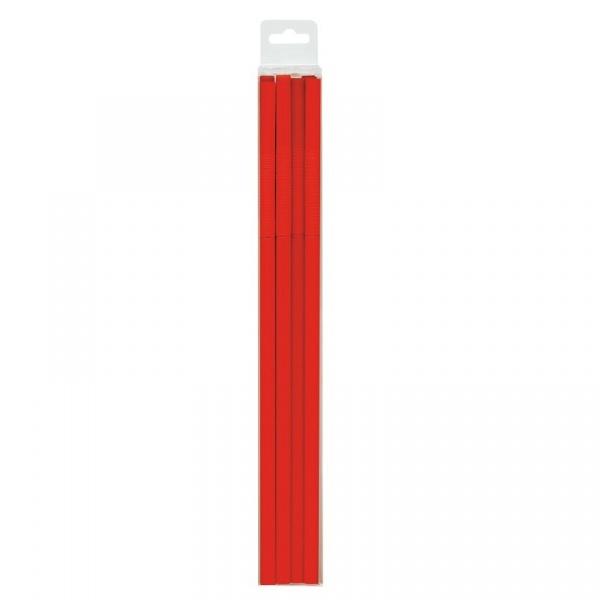 Komplet 15 słomek Zak! Design Jumbo czerwone 0078-710