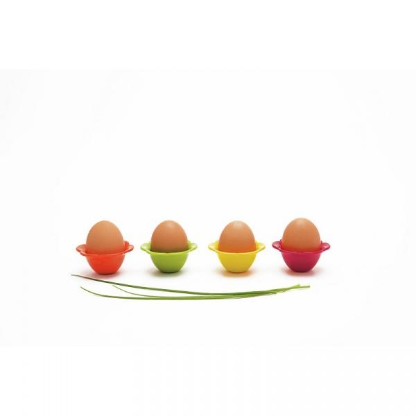 Komplet 2-óch podstawek na jajka Zak! Design Flower 2073-015