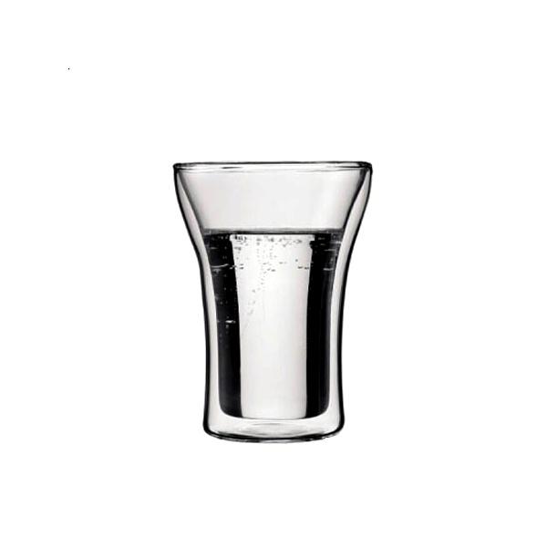Komplet 2 szt. szklanek izolowanych 0,25 l Bodum Assam BD-4556-10