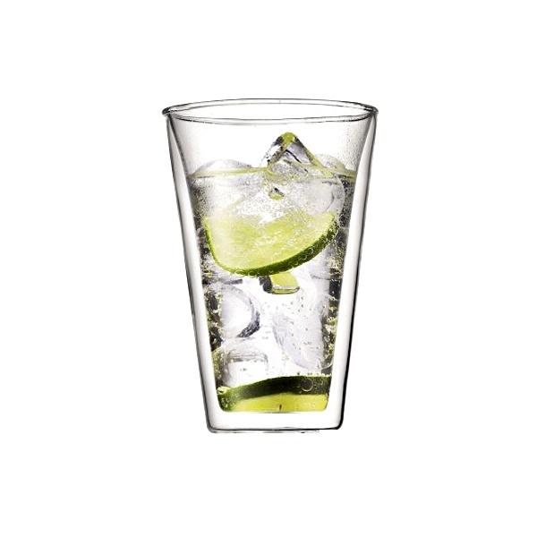 Komplet 2 szt. szklanek izolowanych 0,4 l Bodum Canteen BD-10110-10