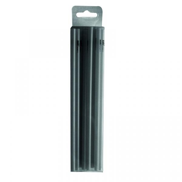 Komplet 50 mini słomek Zak! Design czarne 0015-700