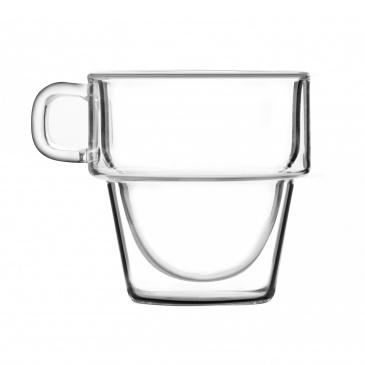 Komplet 6 szklanek z podwójną ścianką 350ml Senso 27459