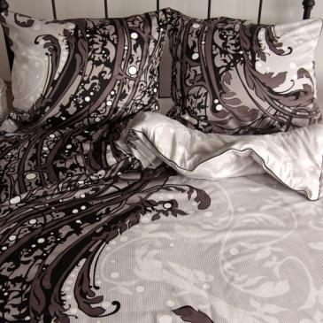 Komplet pościeli satyna bawełniana 160x200 Andropol Royal Collection RC1