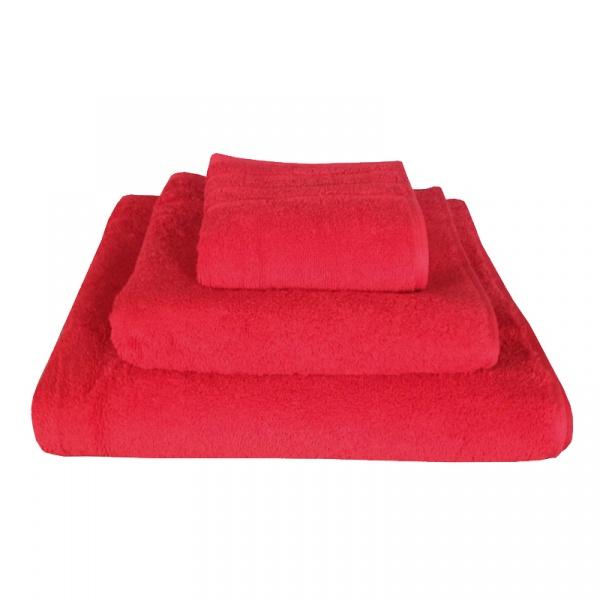 Komplet ręczników 3 szt. Kleine Wolke Exlusive czerwone KW-30034592