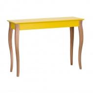Konsola 105x35cm Ragaba Lillo żółta