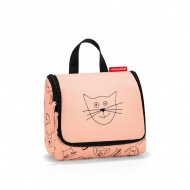 Kosmetyczka toiletbag S kids cats and dogs rose