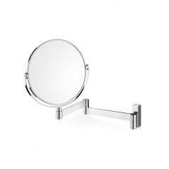 Kosmetyczne lusterko łazienkowe 18cm Zack Linea srebrne