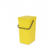 Kosz 16l Brabantia Sort&Go żółty