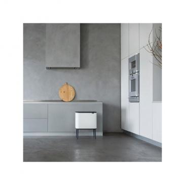 Kosz Bo Touch Bin 3 x 11 l, 3 komory, biały - Brabantia