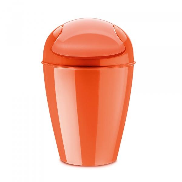 Kosz na śmieci Koziol Del M pomarańczowo-czerwony KZ-5775633