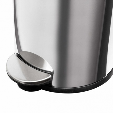 Kosz na śmieci kuchenny 5l HA0016 srebrny