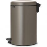 Kosz na śmieci kuchenny pedałowy NewIcon Brabantia platynowy