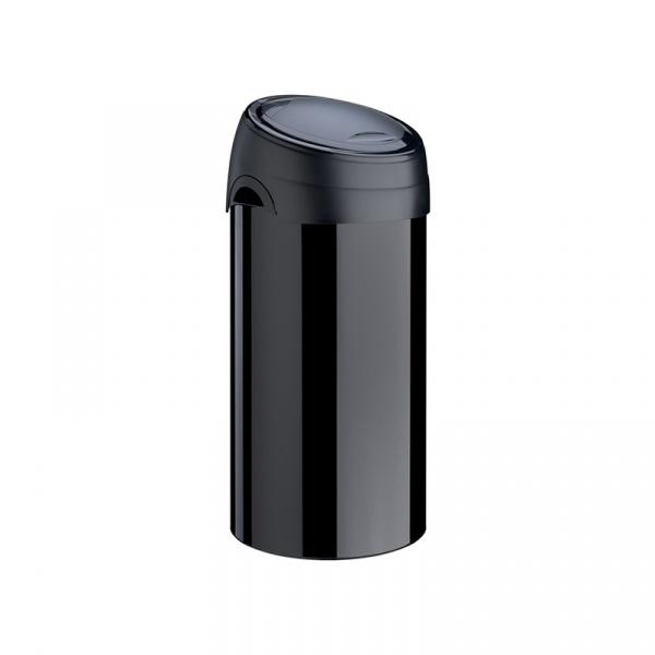 Kosz na śmieci Meliconi SOFT-TOUCH 60L czarny 14000553106BD