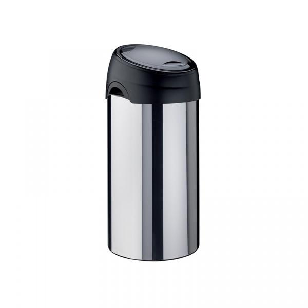 Kosz na śmieci Meliconi SOFT-TOUCH 60L inox 14430500006BD