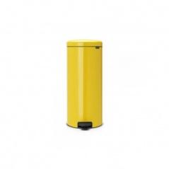 Kosz na śmieci pedałowy NewIcon Brabantia 30l żółty