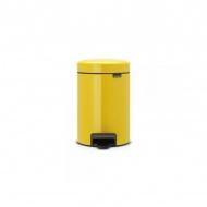 Kosz na śmieci pedałowy NewIcon Brabantia 3l żółty