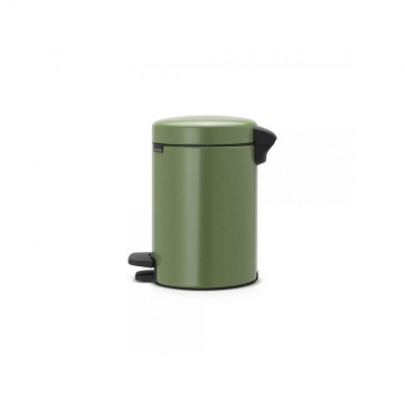 Kosz pedałowy newIcon 3 L zielony, wolnoopadająca pokrywa - Brabantia