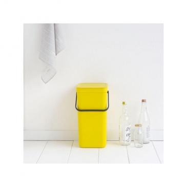 Kosz 'Sort&Go' 16l żółty - Brabantia