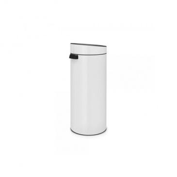 Kosz Touch Bin New 30 l biały - Brabantia