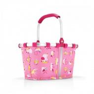 Koszyk carrybag XS kids abc friends pink