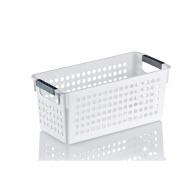 Koszyk łazienkowy Kela Mika biały
