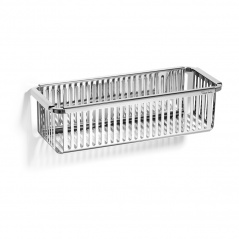 Koszyk prysznicowy Robert Welch Burford srebrny