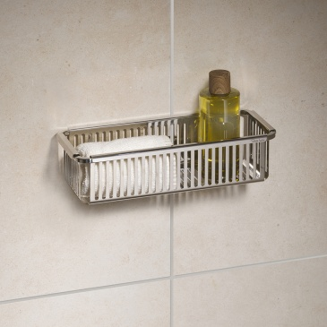Koszyk prysznicowy Robert Welch Robert Welch srebrny