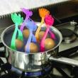 Koszyki do gotowania jaj Pavoni czerwony COCCHIOTRFPAV