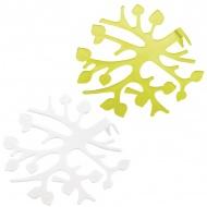 Kratka do aranżacji bukietów Koziol Bloomi biało - zielona 2 szt