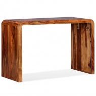 Kredens/biurko, lite drewno sheesham, brązowe