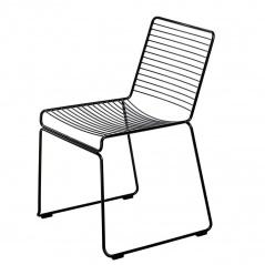 Krzesło 78x53x57 cm D2 Dilly czarne