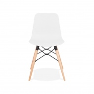 Krzesło barowe Kokoon Design Ginto białe