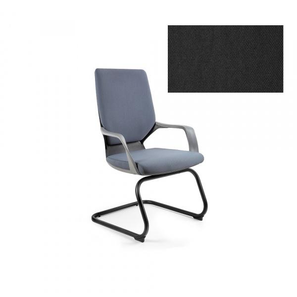 Krzesło biurowe Apollo Skid Unique black W-901B-BL418