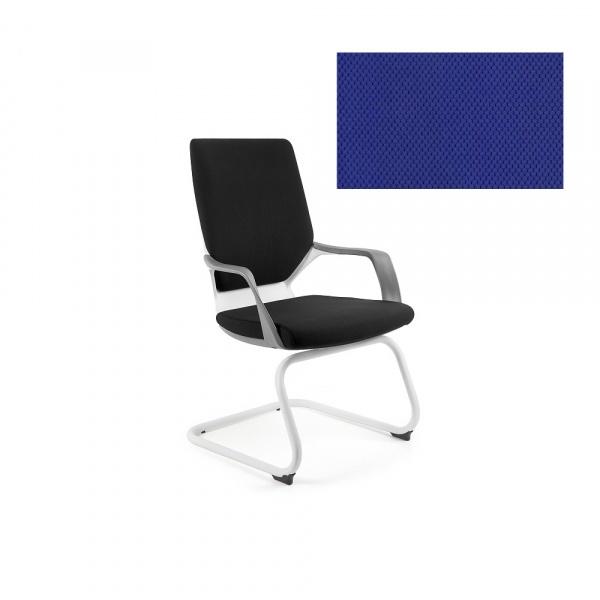 Krzesło biurowe Apollo Skid Unique royalblue W-901W-BL415