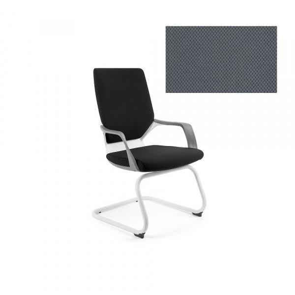 Krzesło biurowe Apollo Skid Unique slategrey W-901W-BL417