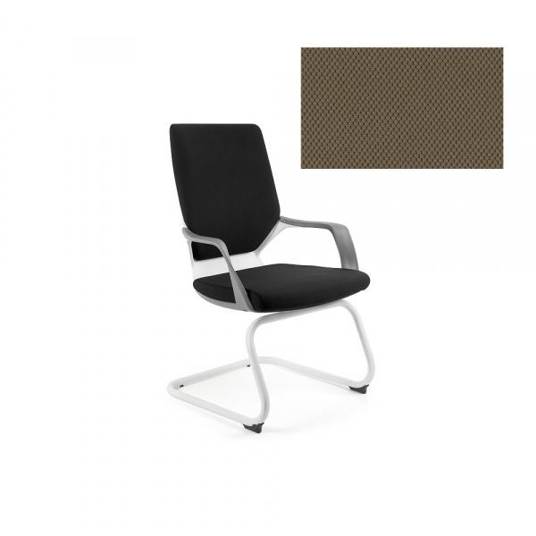 Krzesło biurowe Apollo Skid Unique taupe W-901W-BL409