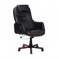 Krzesło biurowe czarne Cipresso BLmeble