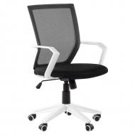 Krzesło biurowe czarne regulowana wysokość Ricci