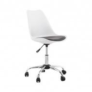 Krzesło biurowe Edea Kokoon Design biało-czarny