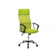 Krzesło biurowe zielone regulowana wysokość Pioppo BLmeble