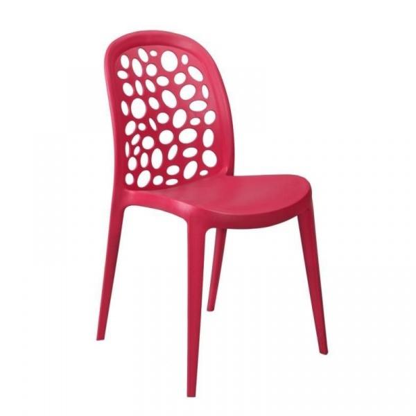 Krzesło Bladder czerwone DK-23818