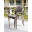 Krzesło Bora białe DK-25388