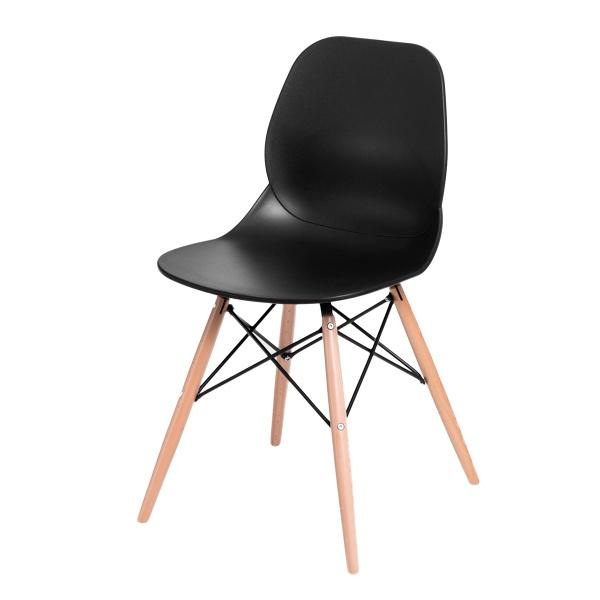 Krzesło D2 Layer DSW czarne DK-71044