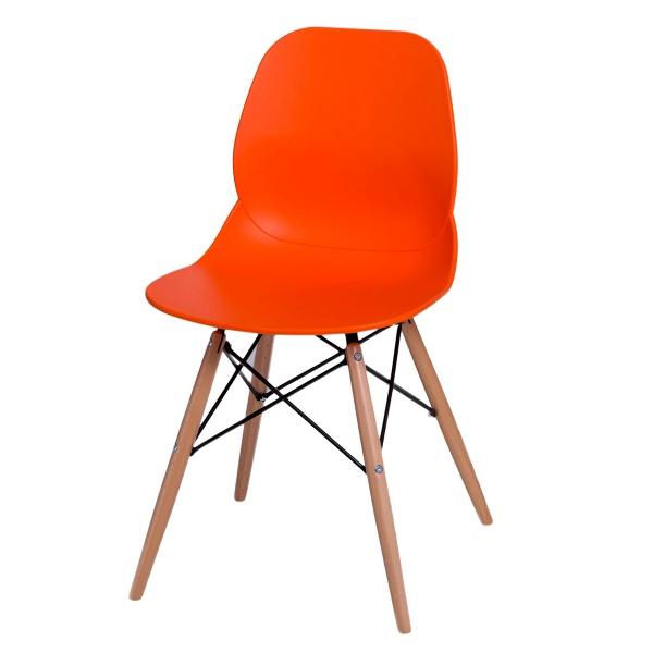 Krzesło D2 Layer DSW pomarańczowe DK-71056
