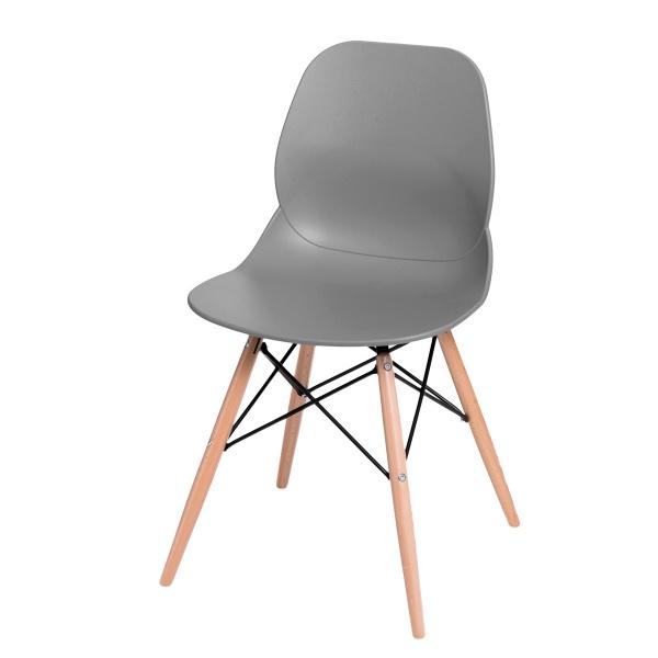 Krzesło D2 Layer DSW szare DK-71047