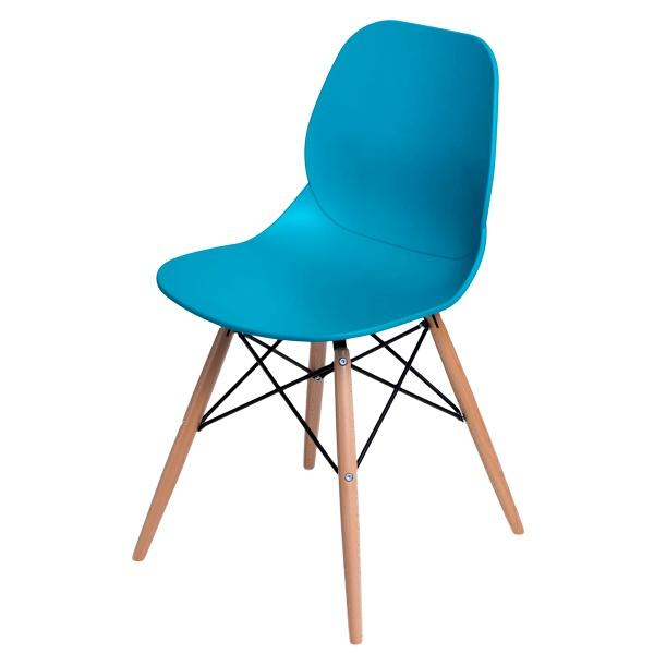 Krzesło D2 Layer DSW turkusowe DK-71050