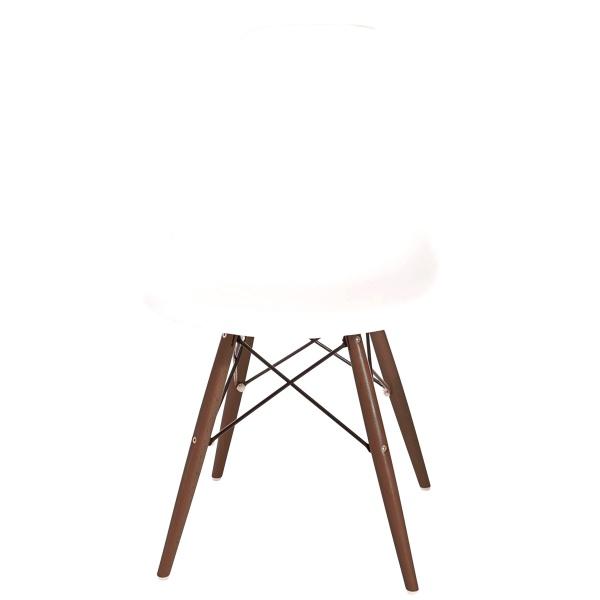 Krzesło D2 P016W PP białe/dark DK-63426